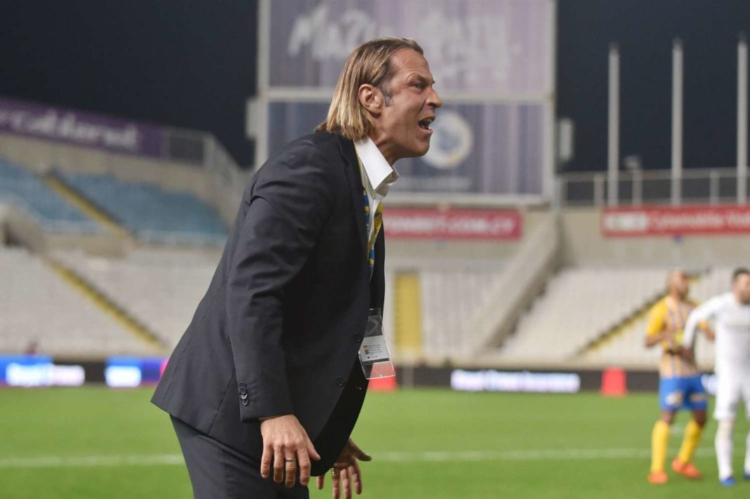 Ο Τραμετσάνι κέρδισε το πρώτο «βραβείο» ως προπονητής του ΑΠΟΕΛ