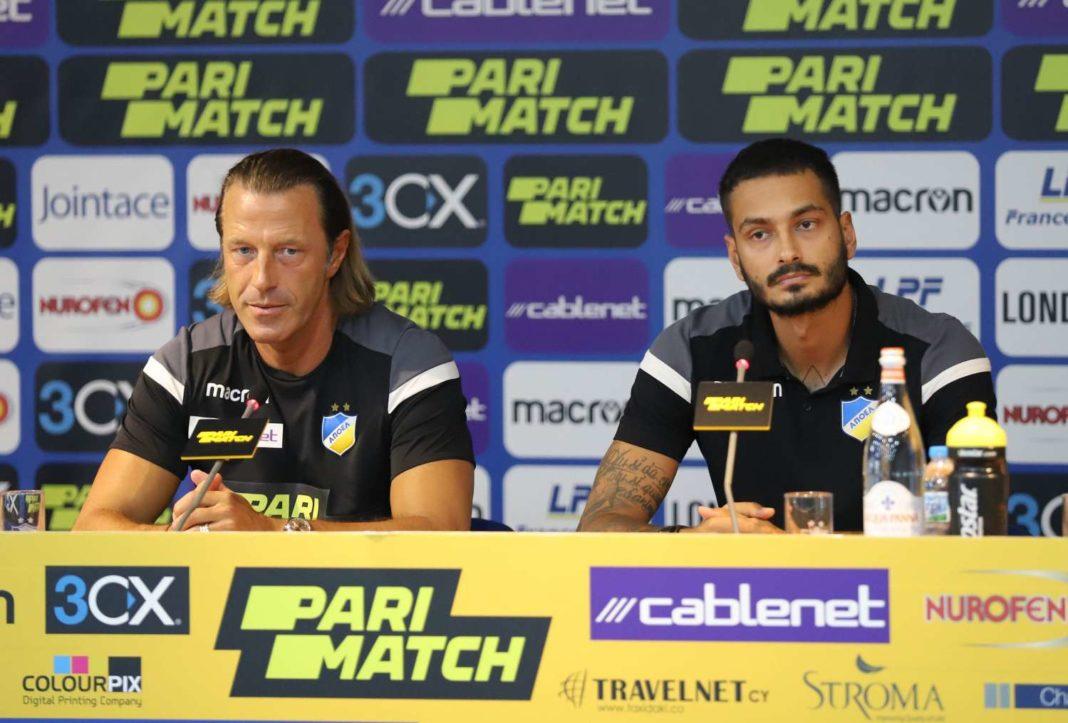 Τραμετσάνι: «Οι παίκτες μου είναι αυτοί που θέλουν να αγωνίζονται με τρεις πίσω»