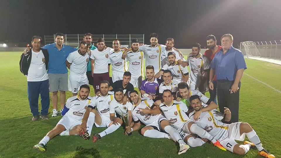 Tρούλλοι FC 2015: Κατέκτησαν και την Ασπίδα