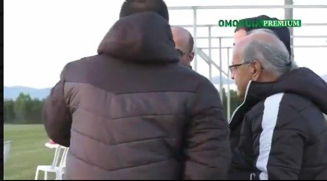 Παρών και ο πρόεδρος Αντώνης Τζιωνής (vid)