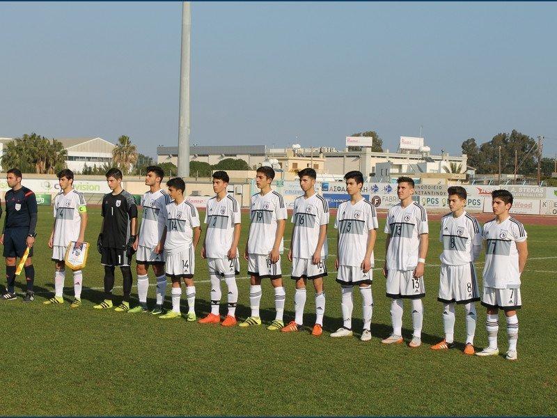 Η αποστολή της Εθνικής Παίδων U-15 για τα φιλικά με την Πολωνία