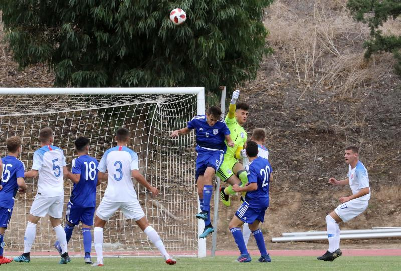 Ήττα της Εθνικής Παίδων από τη Σλοβακία