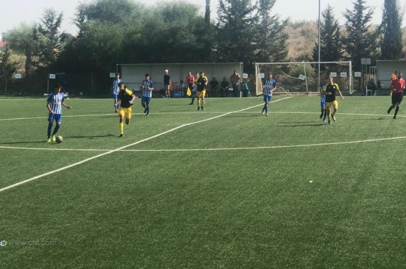 U17: 7η σερί νίκη για τον ΑΠΟΕΛ