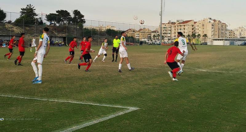 Κύπελλο U19: O απολογισμός των πρώτων αγώνων της πρώτης φάσης