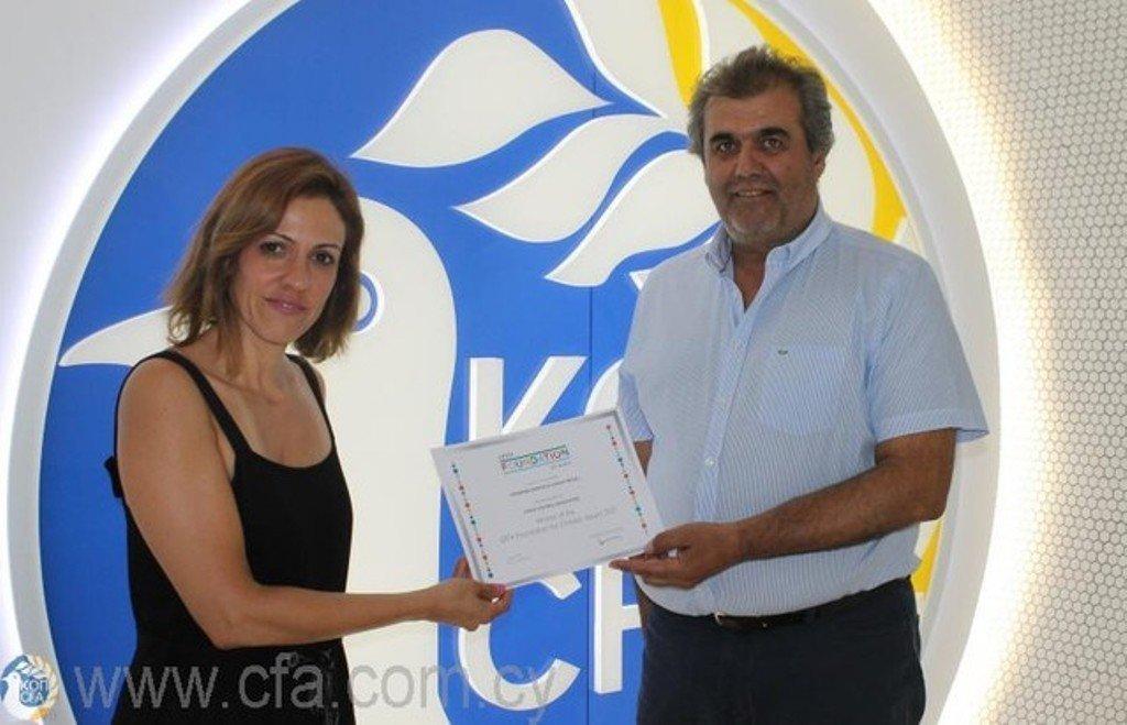 Το UEFA Foundation for Children στηρίζει