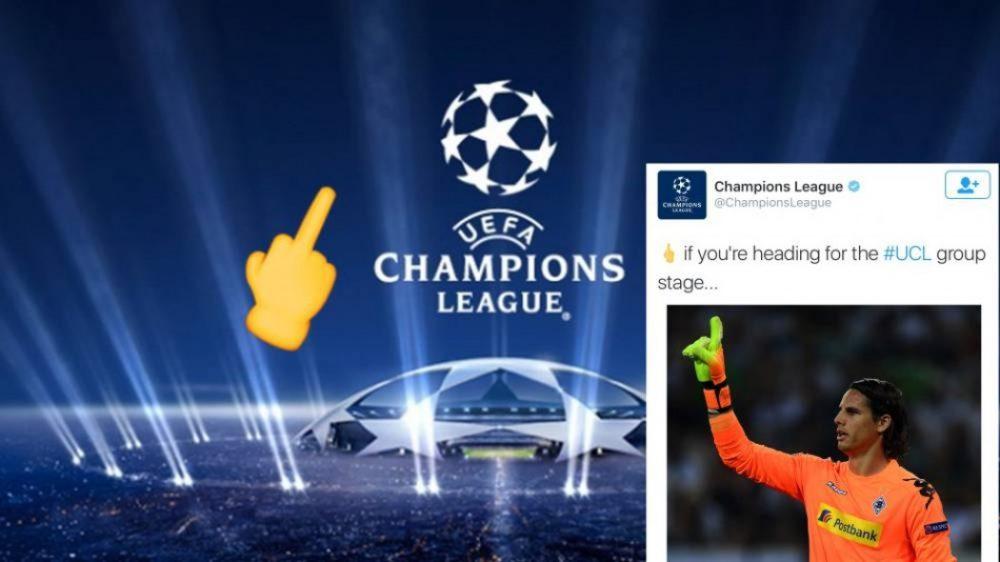 Η UEFA μας έδειξε το... μεσαίο δάχτυλο! (pic)