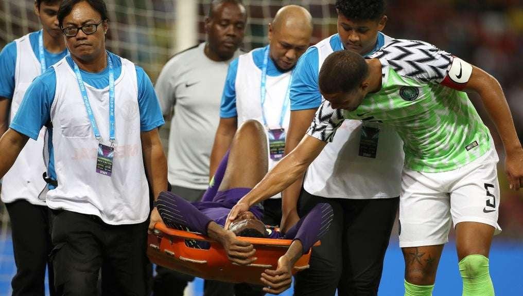 Η φοβισμένη αντίδραση παικτών και σχολιαστών στον τραυματισμό Ουζόχο (vid)