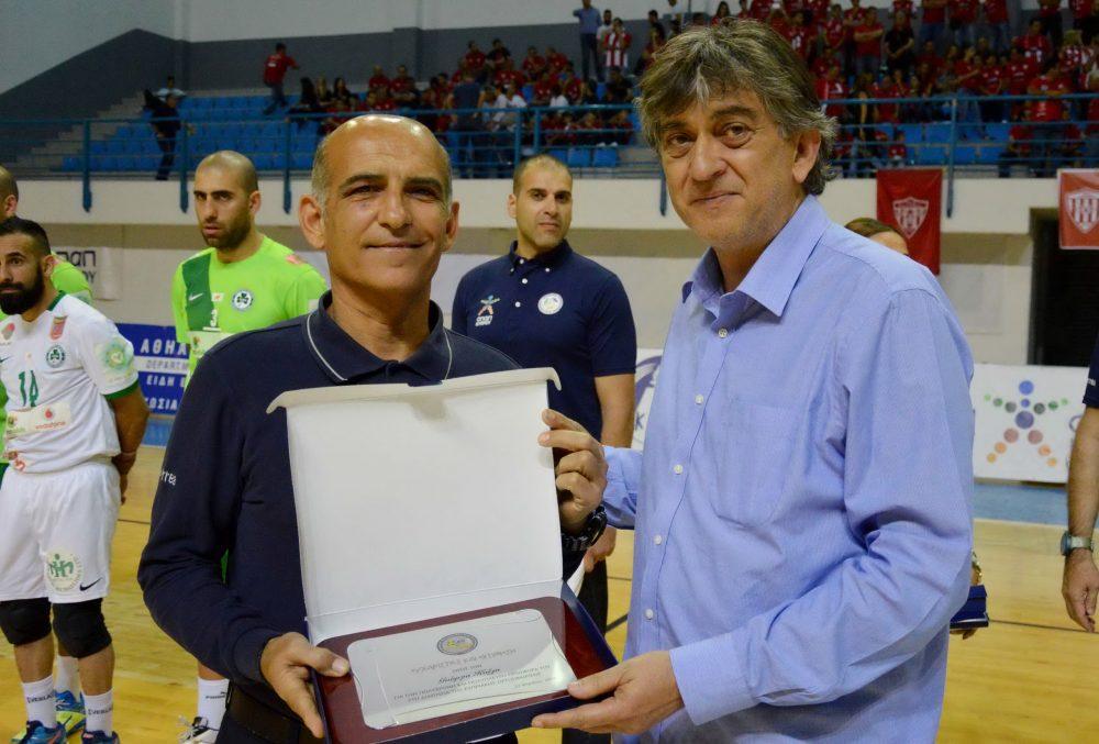 Δύο Κύπριοι διαιτητέςσφύριξαν σε τελικούς