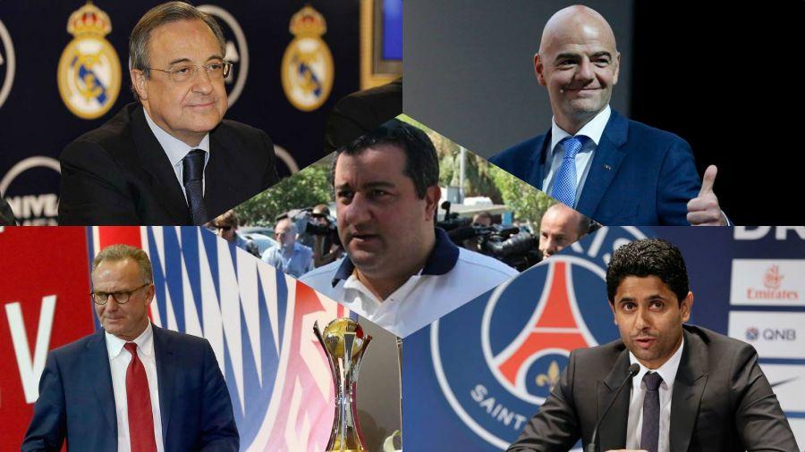 Οι 10 άνθρωποι που «ελέγχουν» το παγκόσμιο ποδόσφαιρο