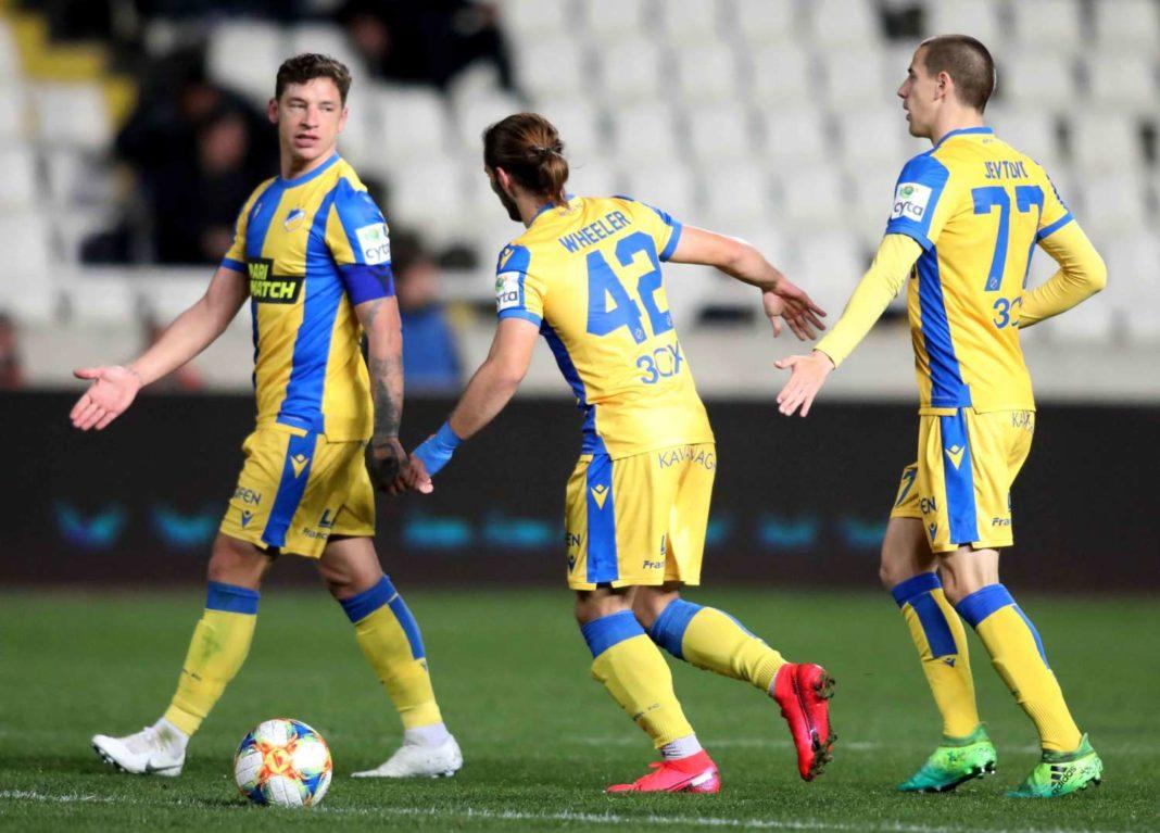 ΑΠΟΕΛ: Δύο σίγουροι και μάχη τριών παικτών για την ευρωπαϊκή λίστα