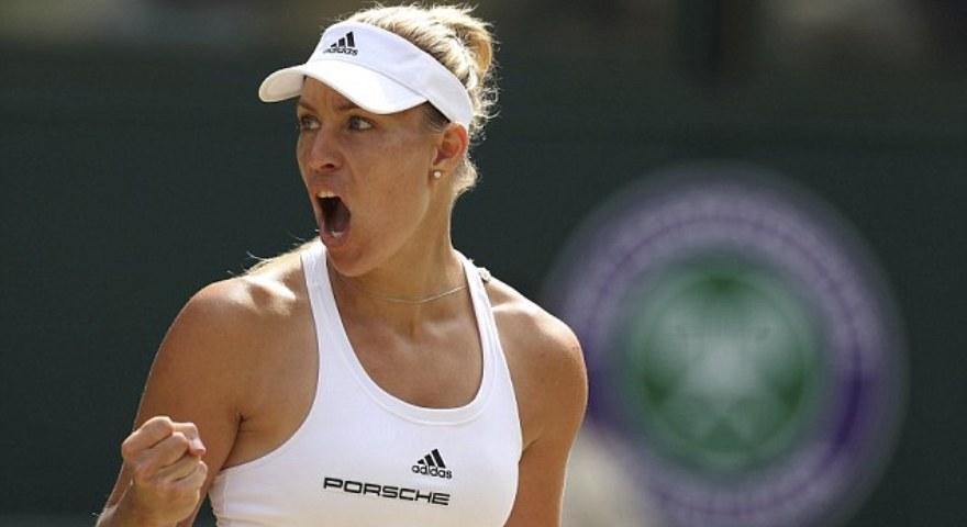 Η Κέρμπερ αντίπαλος της Σερένα στον τελικό του Wimbledon