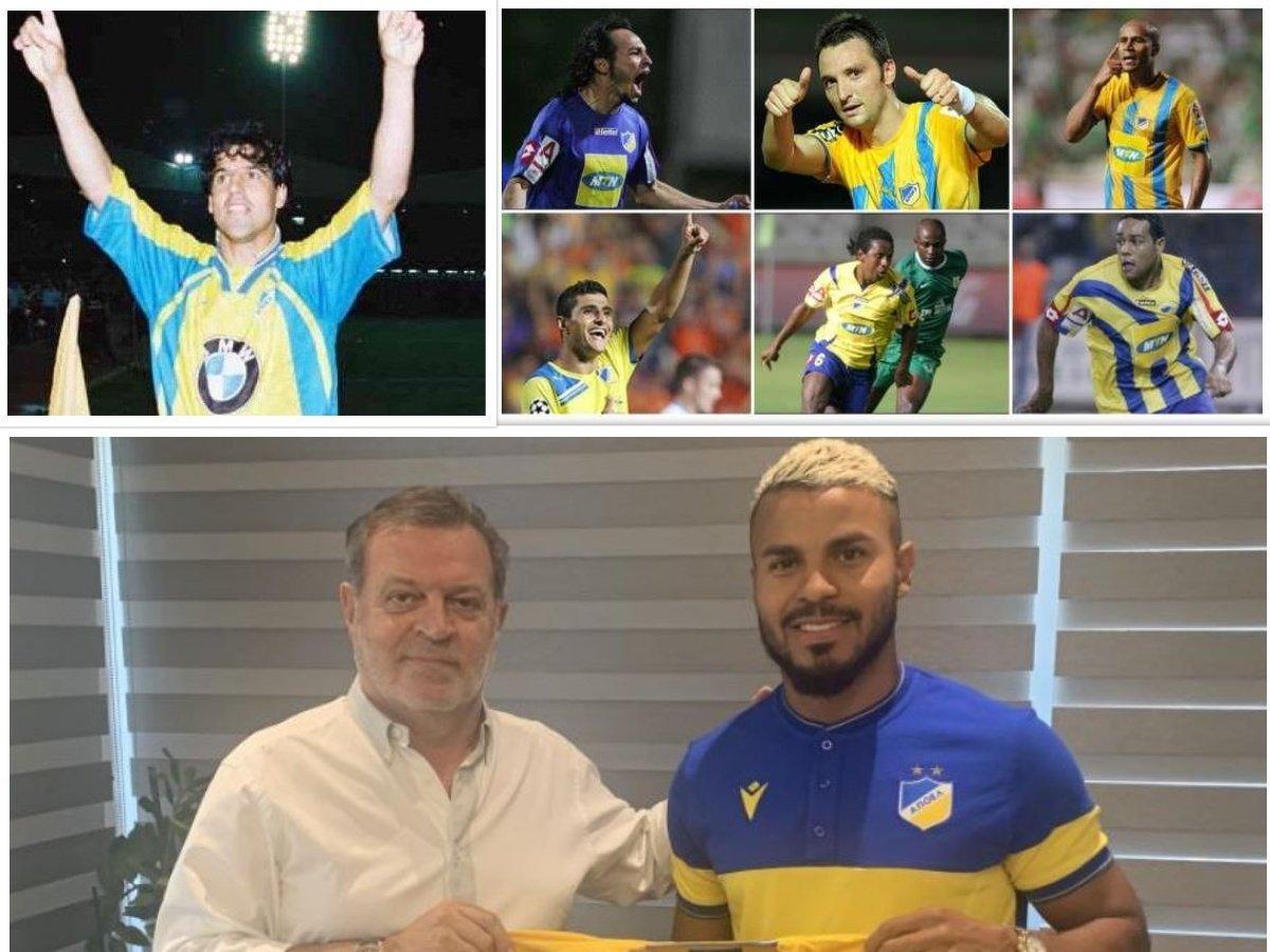 ΑΠΟΕΛ: Από τον Μαρσέλο στον Ντανίλο, 31 Βραζιλιάνοι σε 23 χρόνια
