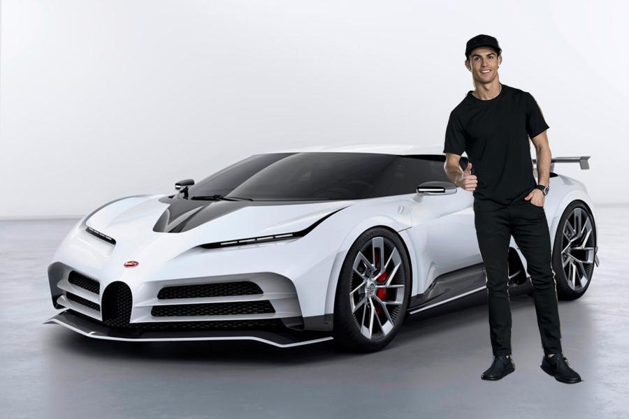 Cristiano Ronaldo Bugatti Centidieci Featured