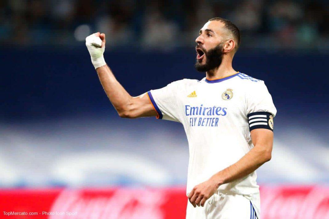 Karim Benzema Real Madrid Celta Vigo 1200x800