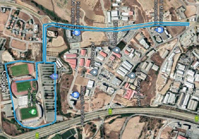 Map Halfmarathon 2021