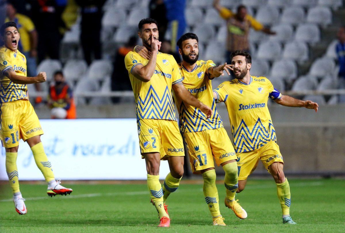 ΑΠΟΕΛ – Εθνικός 2-1: Πύρρειος νίκη με «ήρωα» τον Καρώ